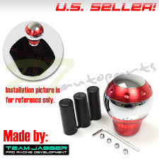 for chevy chrysler m12 m8 m10 insert usa luxury chrome red manual