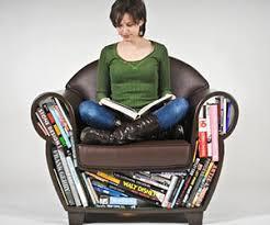 Ergonomic Reading Chair Bookshelf Reading Chair