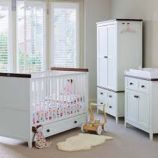 Silver Cross Nostalgia Sleigh Cot Bed Silver Cross Porterhouse Traditional White Nursery Furniture Set