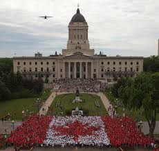 National Flag Of Canada Day Canada Day Living Flag Downtown Winnipeg Bizdowntown Winnipeg Biz