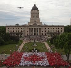 What Leaf Is On The Canadian Flag Canada Day Living Flag Downtown Winnipeg Bizdowntown Winnipeg Biz
