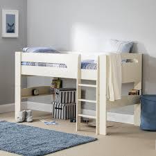 Mid Sleeper Bunk Bed Julian Bowen Barcelona Bunk Bed White Jones Tomlin Childrens Pink
