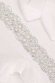 wedding dress sash bridal sashes wedding dress belts david s bridal