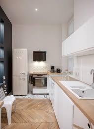 deco cuisine blanc et bois cuisine esprit scandinave blanc et bois clair simple et chic home