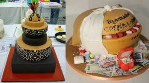traditional wedding cakes these ghanaian traditional wedding cakes are spectacular photos