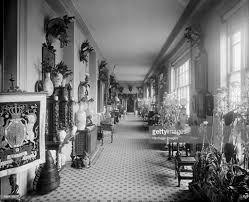 The entrance hall at the White Lodge Richmond Park London 1892 A