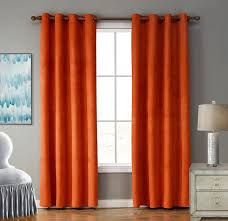 Curtains For The Living Room Beautiful Orange Curtains For Living Room Tips To Cleaning