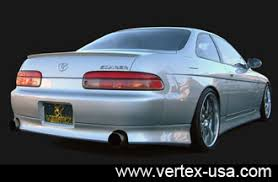 lexus sc300 1996 91 1996 sc300 400 rear lip lip kit vertex half 400 91