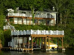 Pictures Of Painted Decks by Decks U0026 Docks Renew Crew Of Lake Gaston Kerr Lake And The