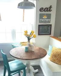 kitchen nook table when you should use a round kitchen table