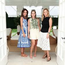 aerin lauder aerin and net a porter hamptons lunch celebrates a summer beauty