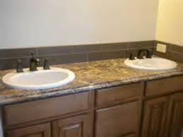 Bathroom Tile Backsplash Behind Vanity TSC - Tile backsplash bathroom