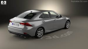 2016 lexus is 200t white 360 view of lexus is xe30 200t f sport 2017 3d model hum3d store