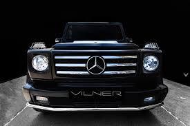 2005 mercedes benz g55 amg gets new game by vilner automobile
