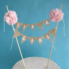 burlap cake toppers delightful design cake toppers for baby shower attractive