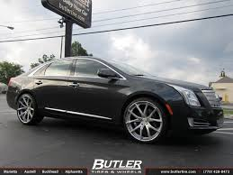 cadillac xts wheels cadillac xts with 22in lexani lz 102 wheels exclusively from