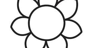 big flower coloring pages flower coloring