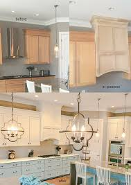 kitchen cabinets two different paint colors bella tucker farmhouse stove hood makeover