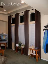 decor interior home decor ideas with extra long curtain rods
