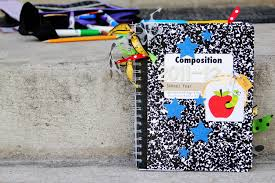 photo album supplies make a cinch bound memory album with recycled school supplies