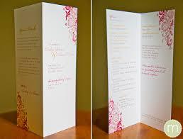 wedding program printing monogramwedding wedding programs do i need one