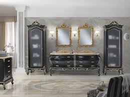 baroque style bathroom solid wood luxury finitura laccato