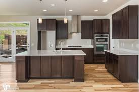 breathtaking espresso kitchen cabinets featuring rectangle shape beauteous l shape kitchen