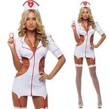 Halloween Nurse Costume Nurse Costume Hat Fancy Lingerie Dress Cosplay