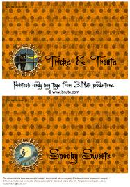 free printable halloween treat bag labels holiday party halloween spooky party invitations decorations
