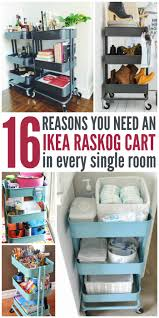 30 fun and unique ways to use an ikea raskog cart ikea raskog