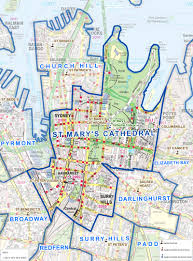 Sydney Map Catholic Archdiocese Of Sydney St Mary S Cathedral