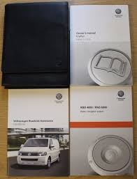 vw crafter handbook owners manual radio navigation 2012 2016 pack
