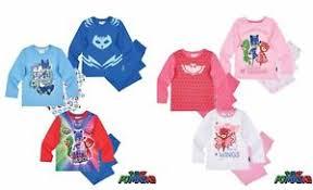 boys girls kids children toddler pj masks pjs pyjamas age 1 5 8