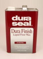 dura seal hardwood flooring waxes