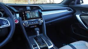 2005 Honda Civic Coupe Interior 2016 Honda Civic Coupe First Drive Slashgear