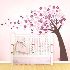 Cherry Blossom Tree Wall Decal For Nursery Cherry Blossom Tree Wall Decal For Nursery Gutesleben