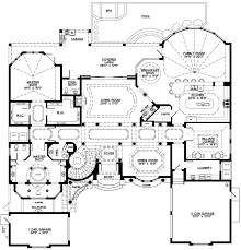 mediterranean home floor plans coastal contemporary florida mediterranean house plan 71502