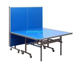 collapsible ping pong table deluxe 108 inches outdoor folding table tennis table competition