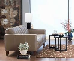 Home Office With Sofa Dania Furniture For A Contemporary Home Office With A Contemporary