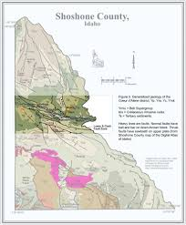 Idaho Time Zone Map Digital Geology Of Idaho Geology Of Northern Idaho And The