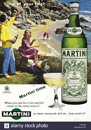 martini and rossi poster original old vintage 1960s full page colour magazine advert dated