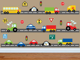 Wall Decals For Boys Truck Wall Decal Construction Wall Decal Car Wall Decal