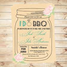 jar invitations i do bbq invitation template jar invitation engagement