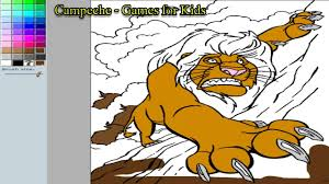 lion king online coloring pages mufasa 121 youtube