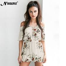 casual jumpsuit nogobadway 2018 casual playsuit womens jumpsuit flower print