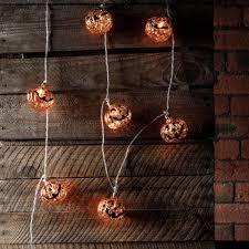 10 mottled pumpkin fairy lights lights4fun co uk