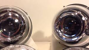 hid lights for classic cars 5 75 d1s hid projector headlights for classic cars youtube