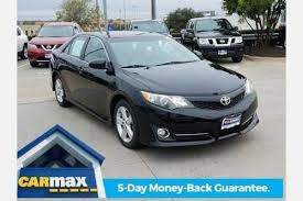 used 2013 toyota camry se used 2013 toyota camry for sale in tx edmunds