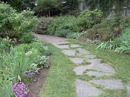 Flagstone Walkway Design Ideas by Garden Path Ideas Garden Path Ladew Gardens Flagstone Grass