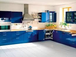 blue blue kitchen cabinet kitchen cabinets cream curved wooden